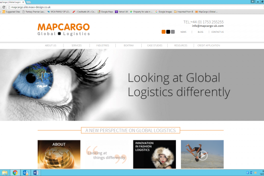Mapcargo launch new Website!
